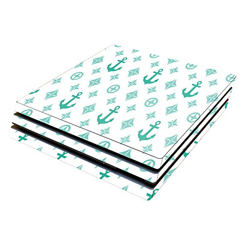 Price comparison product image MightySkins Protective Vinyl Skin Decal for Sony PlayStation 4 Pro PS4 wrap cover sticker skins Teal Designer