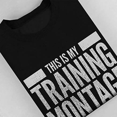Montage Montage My This Women's Cloud Cloud Black City Shirt Training Is Sweatshirt 7 gwqgYExPI