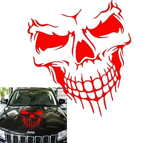 (Car Exterior Decoration - Xotic Tech Auto Front Hood Vinyl Graphic Sticker - Truck Trailer Boat Door Window Decal - 1pcs 22