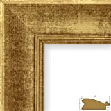 Craig Frames 18 by 24-Inch Picture Frame, Smooth Wrap Finish, 2-Inch Wide, Vintage Gold (212315)