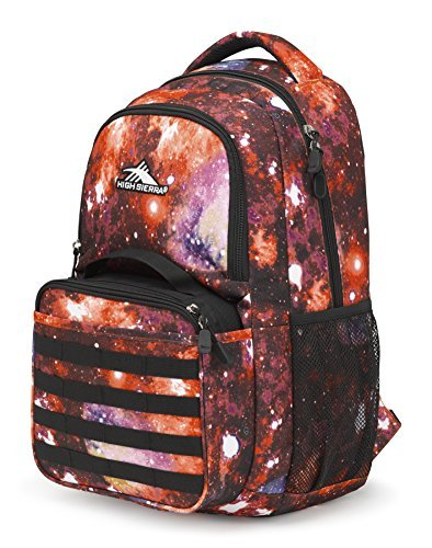 High Sierra Joel Lunch Kit Backpack, Space Age/Black [並行輸入品] B07DVJ98CS