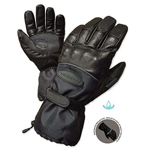 Olympia 4370 Cold Throttle All Season Gloves (Black, - Cold Black Gloves Tex