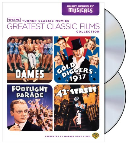 TCM Greatest Classic Film Collection: Busby Berkeley (Dames / Gold Diggers of 1937 / Footlight Parade / 42nd Street) from Warner Brothers