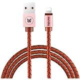 Topwise 苹果1.5米数据线 苹果Lightning to USB连接线适用于 苹果X / 苹果8 / 8plus/iPhone7/6s Plus/6/5s/5/5c 认证充电器线 IOS快速传输 原创编织