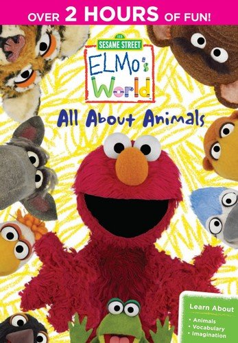 Sesame Street: Elmo's World - All About Animals: The Complete First Season (Sesame Street The Best Of Elmo Part 1)