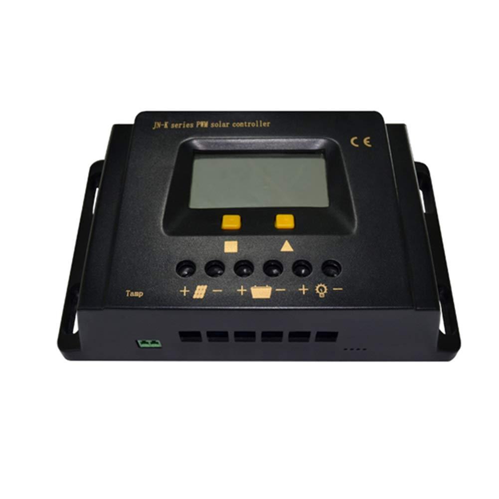 PWM充電 スマート ソーラー充電コントローラ 10A 20A 30A ソーラーLED 街路 レギュレータ IC LCDタイマーライトコントロール ソーラーチャッジコントローラ LCDディスプレイ付き ソーラーコントローラー (Color : 10A, Size : 12V/24V Auto) B07QGVDPCP 10A 12V/24V Auto