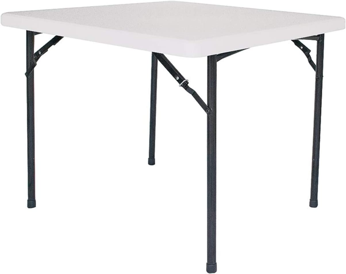 HOMEBASIX Square Folding Table, 36-Inch