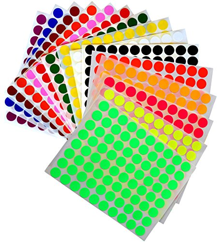 Kids Colored Round dots ½