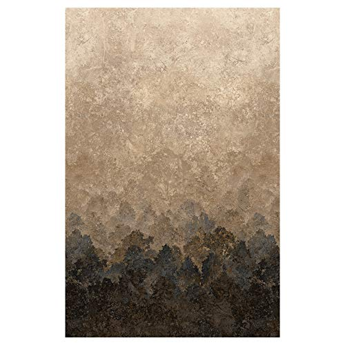 (Northcott Stonehenge Deerhurst Tree Ombre Fabric, Slate, Fabric By The Yard)