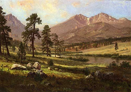 Albert Bierstadt Longs Peak, Estes Park, Colorado Private Collection 30