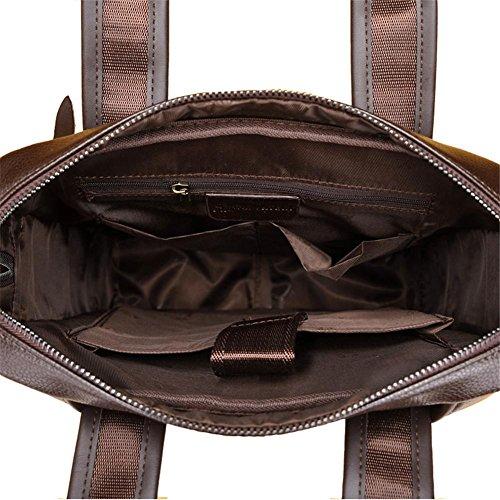 Bolso de hombro portátil de la cartera de los hombres Bolso del mensajero del ocio de la manera