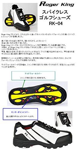 スパイクレス ゴルフシューズ 広田ゴルフ ロジャーキング RK-04
