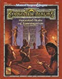img - for Haunted Halls of Eveningstar (AD&D 2nd Ed Fantasy Roleplaying, Forgotten Realms Module, FRQ1) book / textbook / text book