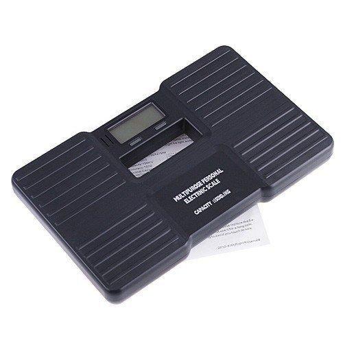 150kg/300g Báscula LCD Peso Balanza Corporal Digital Baño Negro Grasa: Amazon.es: Hogar