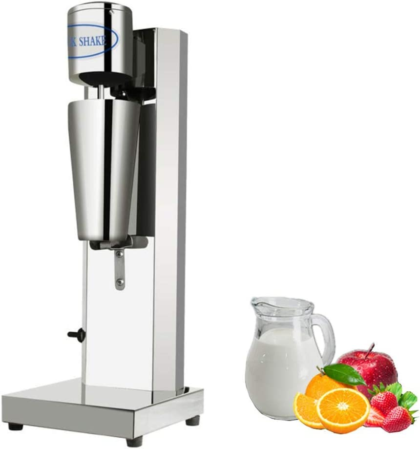 KUNHEWUHUA Milkshake Maker Stainless Steel Drinkmaster Smoothie Maker Blender 800ml Cup, 110-120V USA plug