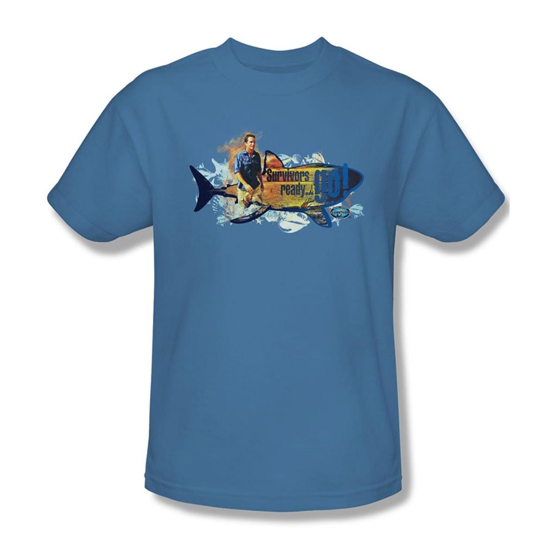 Survivor - Mens Ready Go T-Shirt In Carolina Blue