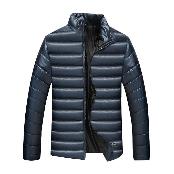 KINDOYO Männer WarmKeep Jacke Lässige Full Zip Jacke