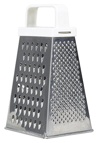 3-in-1 Tower Grater with White Solf Hold Handle