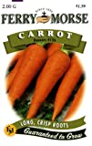 Ferry-Morse Seeds 1253 Carrot – Danver's #126 2 Gram Packet, Appliances for Home