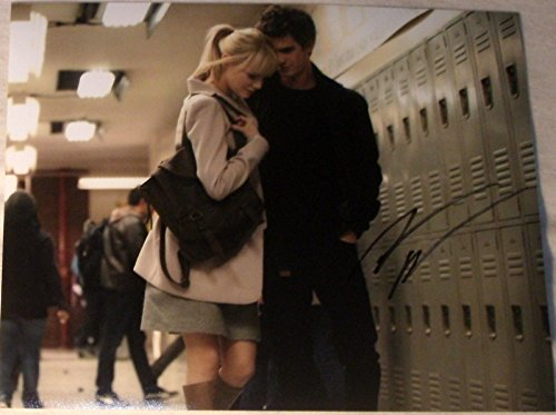 "ANDREW GARFIELD SIGNED AUTOGRAPH ""AMAZING SPIDER-MAN"" CUTE SCHOOL LOCKER PHOTO"