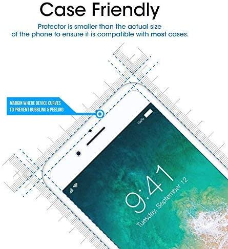 amFilm Glass Screen Protector for iPhone 8 7 6S 6 47 Inch2 Pack Tempered Glass Screen Protector