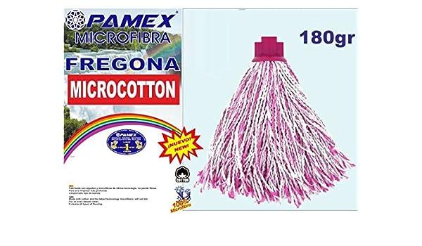 PROMO PASTOR Fregona Micro Algodon 180 Gramos 25cm Pamex: Amazon ...
