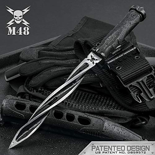 M48 Cyclone Fixed Blade Knife with Custom Vortec Sheath
