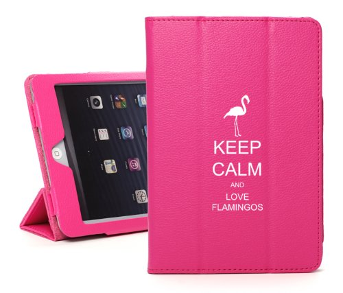 """For Apple iPad Pro 12.9"""" Hot Pink Leather Magnetic Smart Cas"""