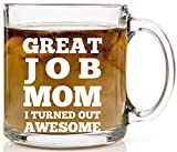 Makes the perfect gift for Mom because you're awesome. Sure to make her smile and think of you every time she has a cup of coffee or tea. Great present for different occasions. Looking for that unique gift for your mother for Mother's Day, Ch...