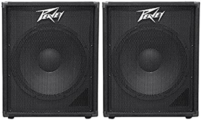 "2 Peavey PV 118 18"" Professional Subwoofers Vented Sub PV118 from Peavey"
