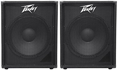 2 Peavey PV 118 18'' Professional Subwoofers Vented Sub PV118 by Peavey