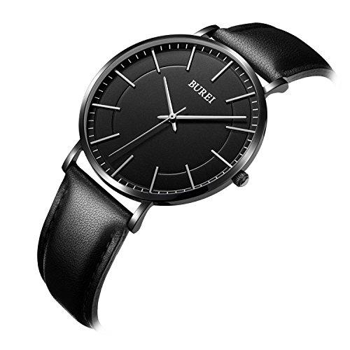 Black Friday Deal on the BUREI Unisex Ultra Thin Quartz Watch