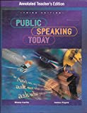 img - for Public Speaking Today Annotated Teacher's Edition book / textbook / text book