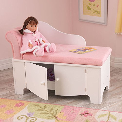 Two-Tone Pink Princess Chaise Lounge