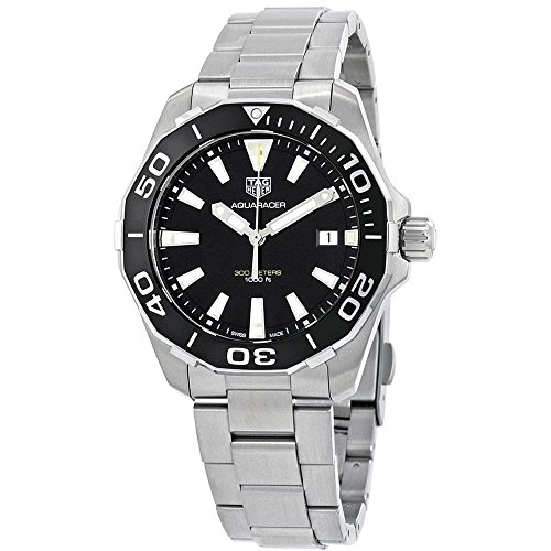 Tag Heuer Aquaracer Black Dial Quartz Mens Watch WAY111A.BA0928
