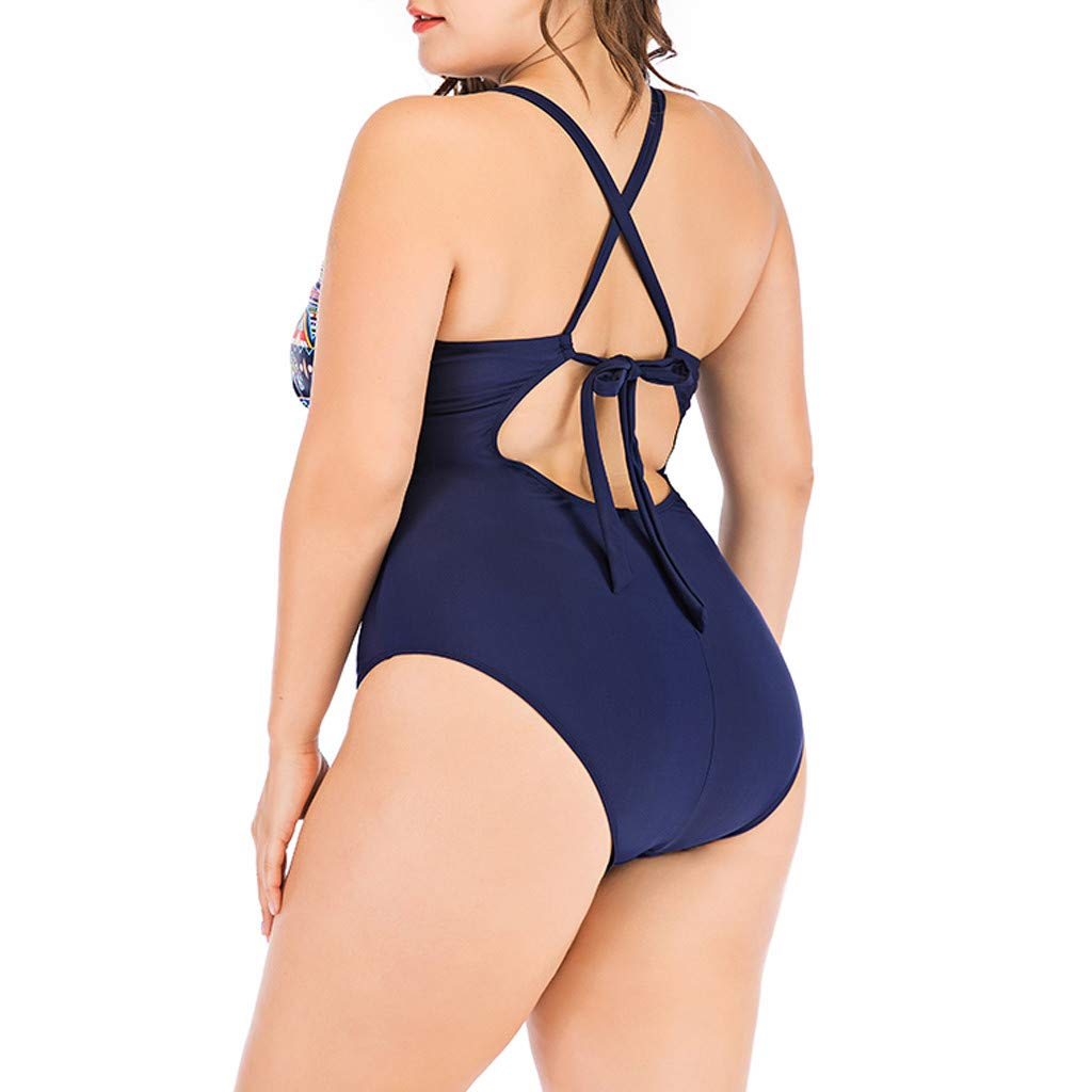 Randolly Women Bikini,Ladies Plus Size Costume Padded Swimsuit Monokini Push Up Bikini Sets Swimwear