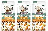 Versele Laga 3 Pack of Complete Crock Carrot Treats
