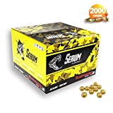 Serum 2000CT .68 Calibre Caliber thick shell splash paintball balls toy games sport