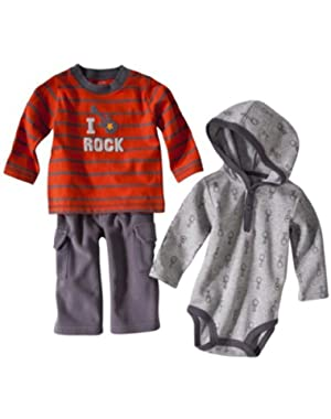 Just One You Made By Carter's Infant Boys I Rock 3pc Set
