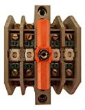 Furnas 46MTB40 MT/46 Relay Adder Deck Attachment 4 Poles N.O. Convertible to N.C.