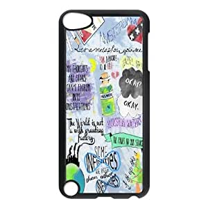 2014 New & Fashion Star DIY The Fault in Our Stars Okay?okay. phone Case Cover For Samsung Case For Ipod Touch 5th RCX046985