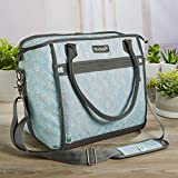 Fit & Fresh Day Trip Insulated, High Performance, Soft Cooler Bag with Leak Proof Foil Liner, Multi-Layer Insulation and Radiant Barrier, Large 30-Can Capacity, Aqua Review