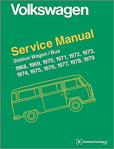 Volkswagen Station Wagon Bus Type 2 Service Manual 1968