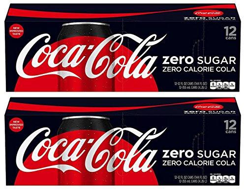 Coca Cola Coke Zero Sugar, 12-Ounce (Pack of 24)