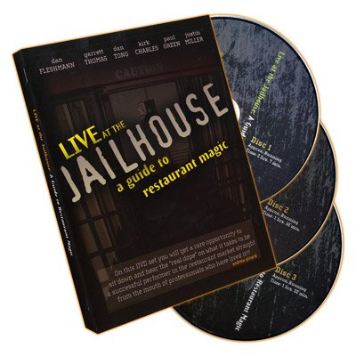 Live At the Jailhouse - A Guide to Restaurant Magic (3 DVD Set) by Kozmomagic Inc. (Image #1)