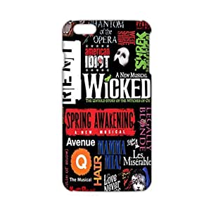 Cool-benz Wicked 3D Phone Case for iPhone 6 plus