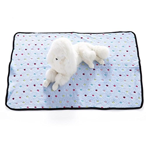 Aiweasi Lovely Cute Myyxt Blanket Pet Dog Cat Hand Wash Made of Polyester Breathable Double (Casual Dog Couch)