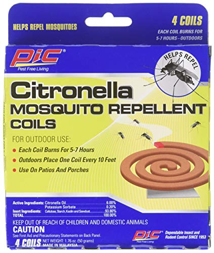 (PIC 4322 Mosquito Repellent, 4 Coils (Pack of 3), 1)
