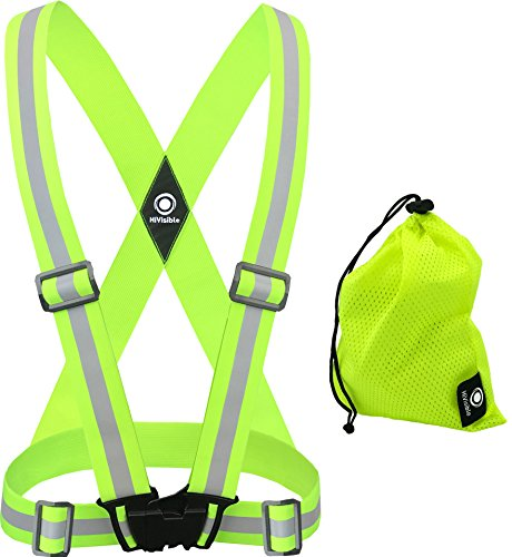 (HiVisible Reflective Vest (Green Vest))