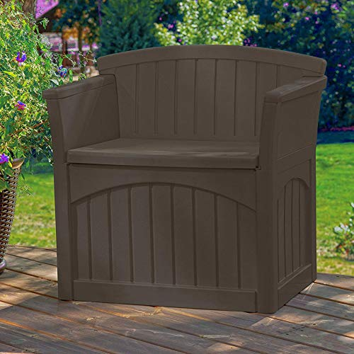 jnwd Resin Storage Bench 31 Gallon Patio Box Container Waterproof Durable for Indoor Outdoor Furniture Garden Backyard Garage Utility Room Weather Resistance & e-Book by jnwd (Image #3)